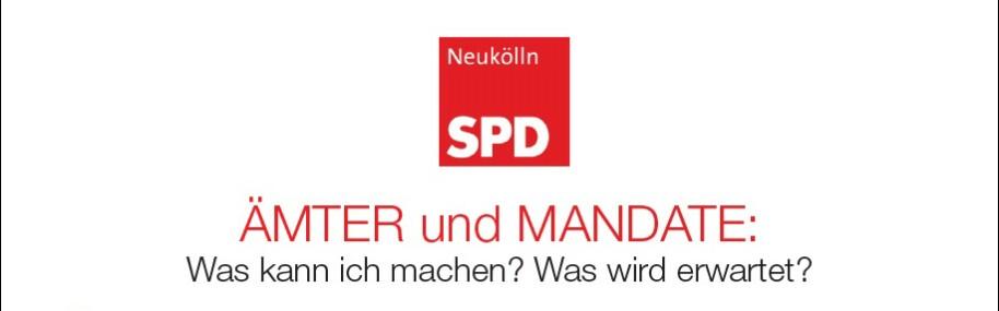 Ämter und Mandate der SPD Neukölln