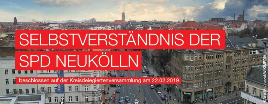 Selbstverständnis der SPD Neukölln